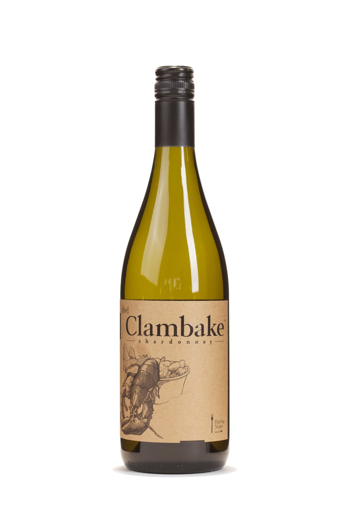 2014 The Clambake Unoaked Chardonnay Mendocino