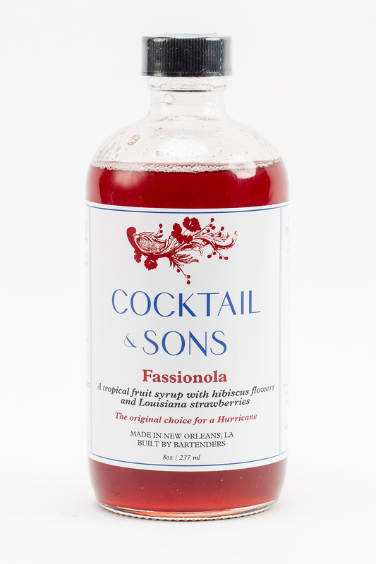 Cocktail & Sons Fassionola Syrup (2017)