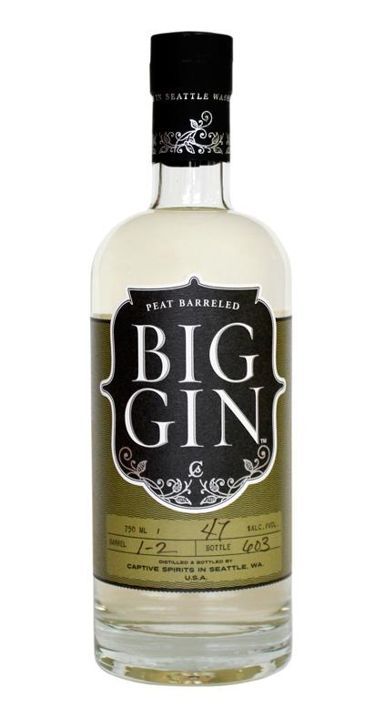Big Gin Peat Barreled