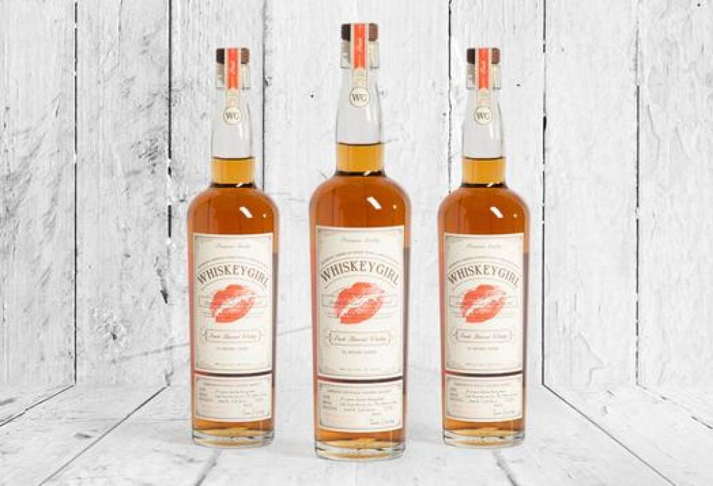 Dark Corner Distillery Whiskey Girl Peach Flavored Whiskey