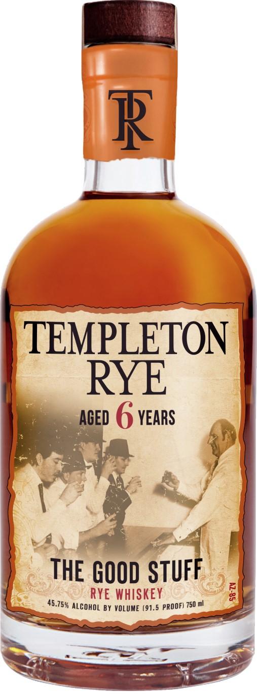 Templeton Rye 6 Years Old