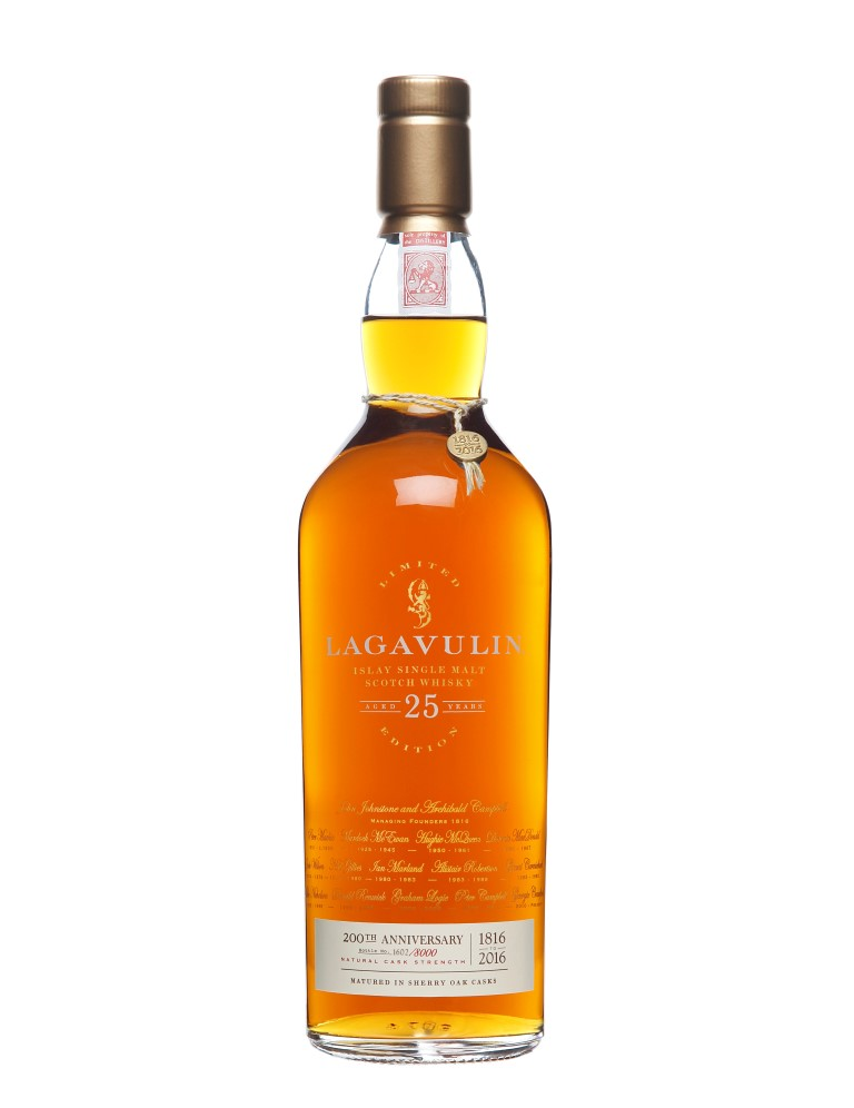 Lagavulin 25 Years Old 200th Anniversary (2016)