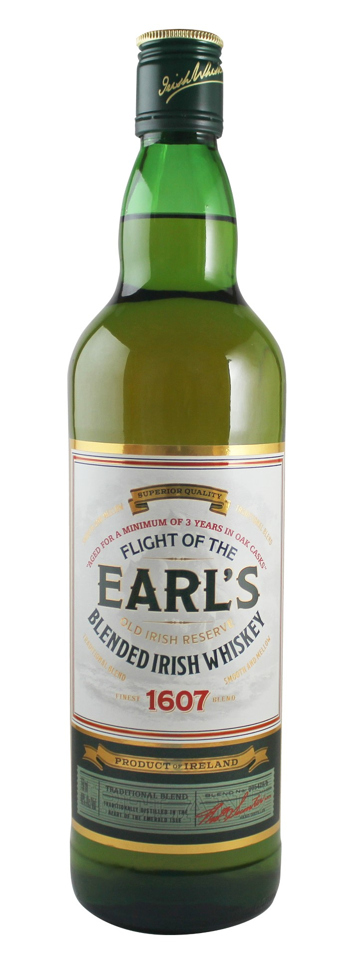 Flight of the Earl's Blended Irish Whiskey