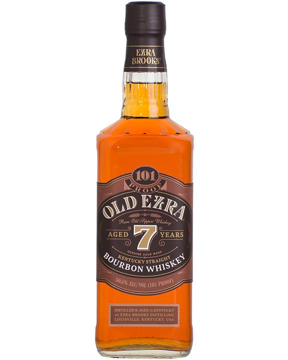 Old Ezra Straight Bourbon 7 Years Old