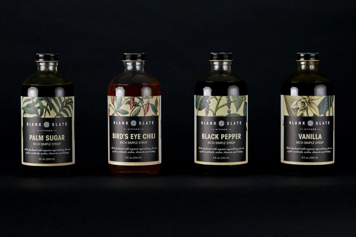 Blank Slate Palm Sugar Rich Simple Syrup