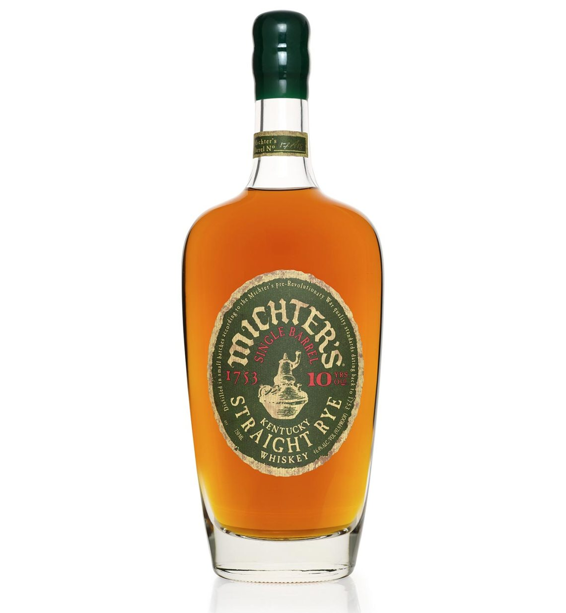 Michter's Single Barrel Straight Rye 10 Years Old 2017