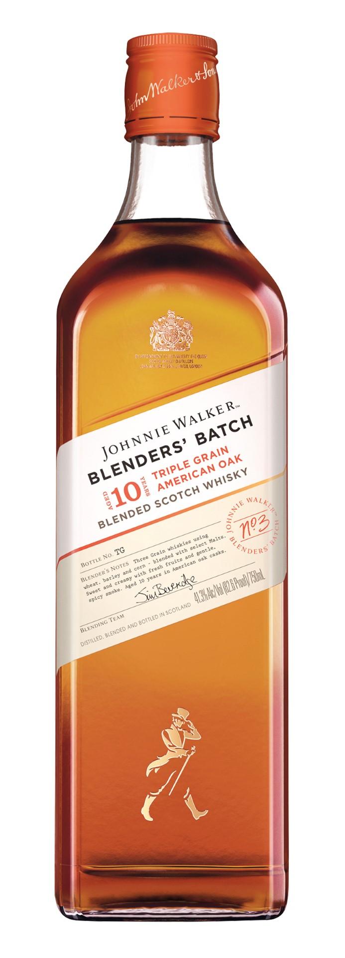 Johnnie Walker Blenders' Batch Triple Grain American Oak 10 Years Old