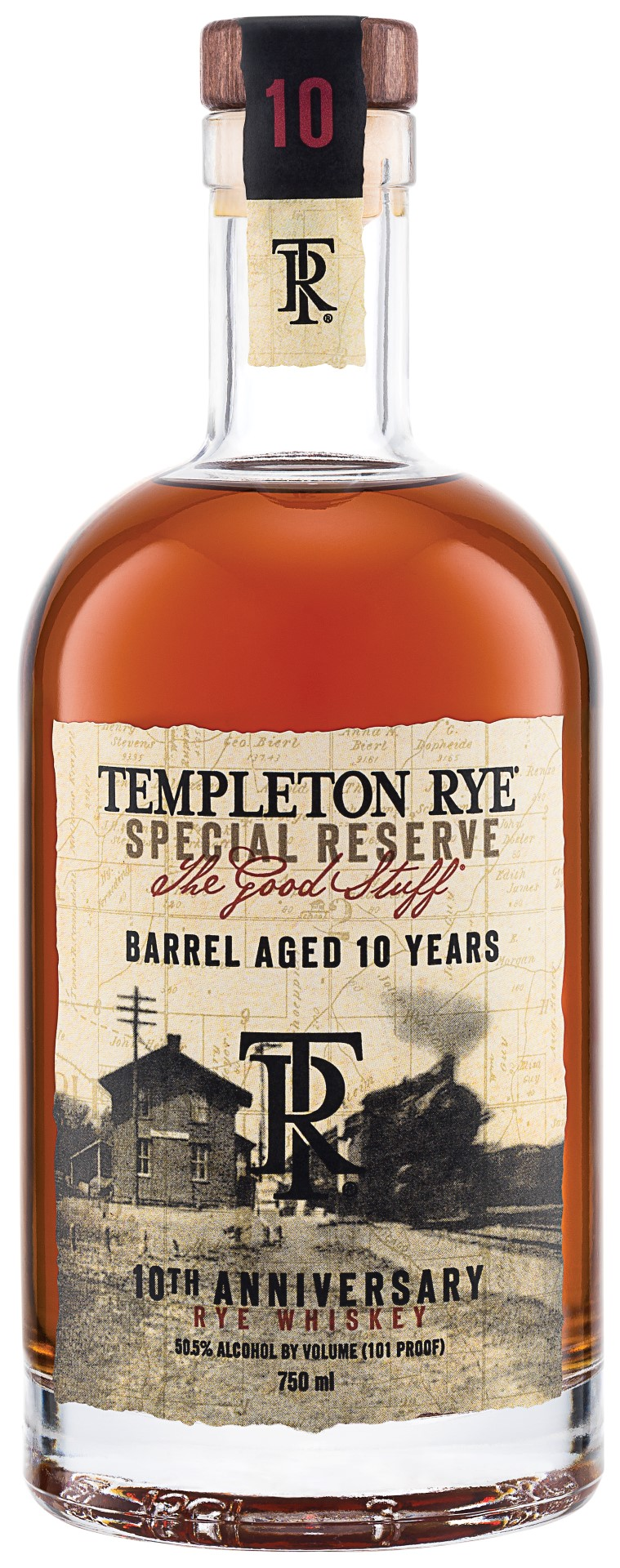 Templeton Rye 10 Years Old