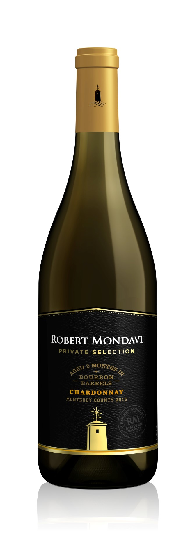 2015 Robert Mondavi Private Selection Chardonnay Aged in Bourbon Barrels