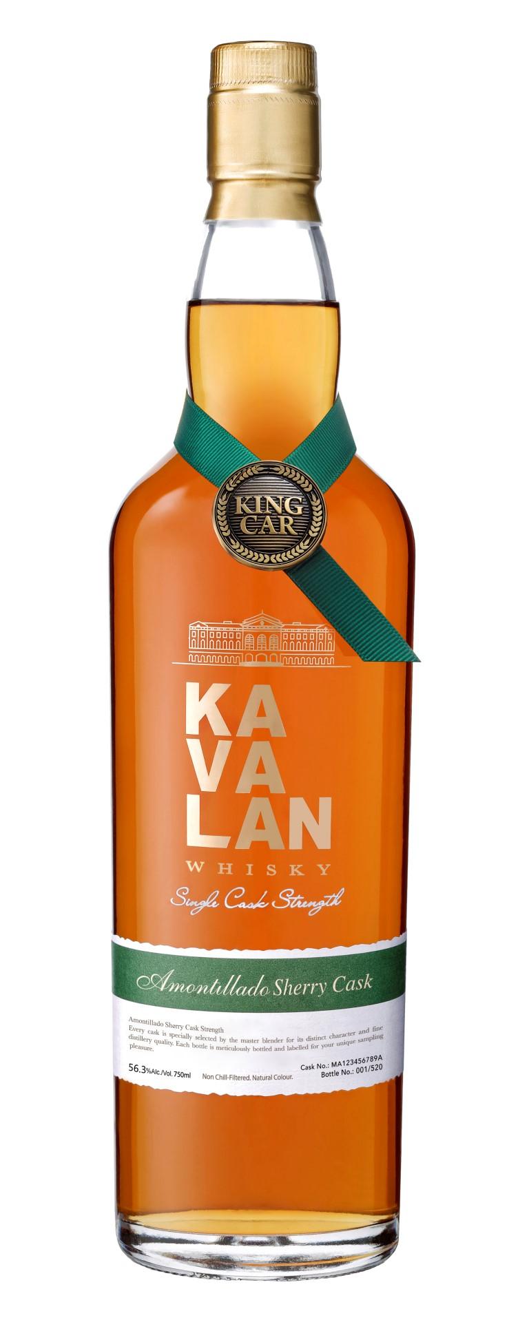 Kavalan Amontillado Sherry Cask Single Malt Whisky