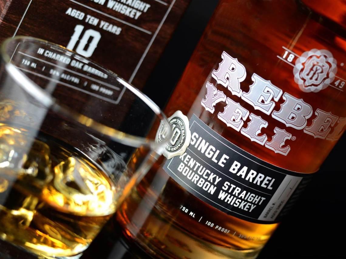 Rebel Yell Single Barrel Bourbon 10 Years Old 2017
