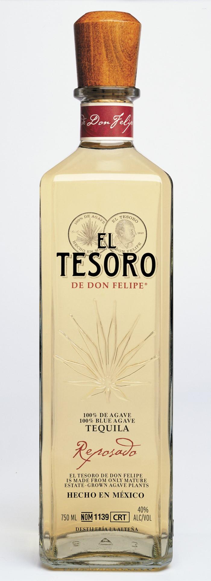 El Tesoro Tequila Reposado