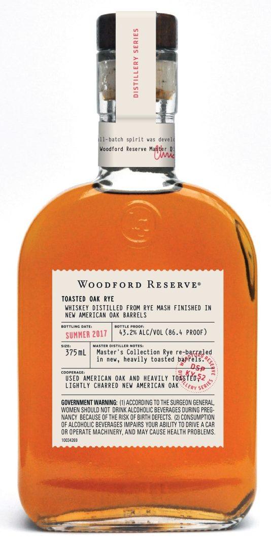 Woodford Reserve Distillery Series – Toasted Oak Rye