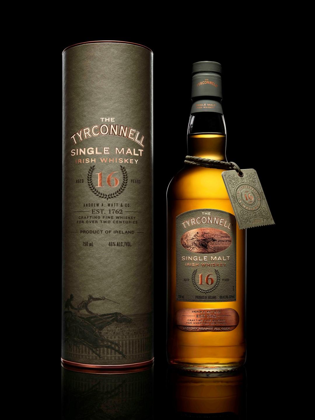 The Tyrconnell Single Malt Irish Whiskey 16 Years Old