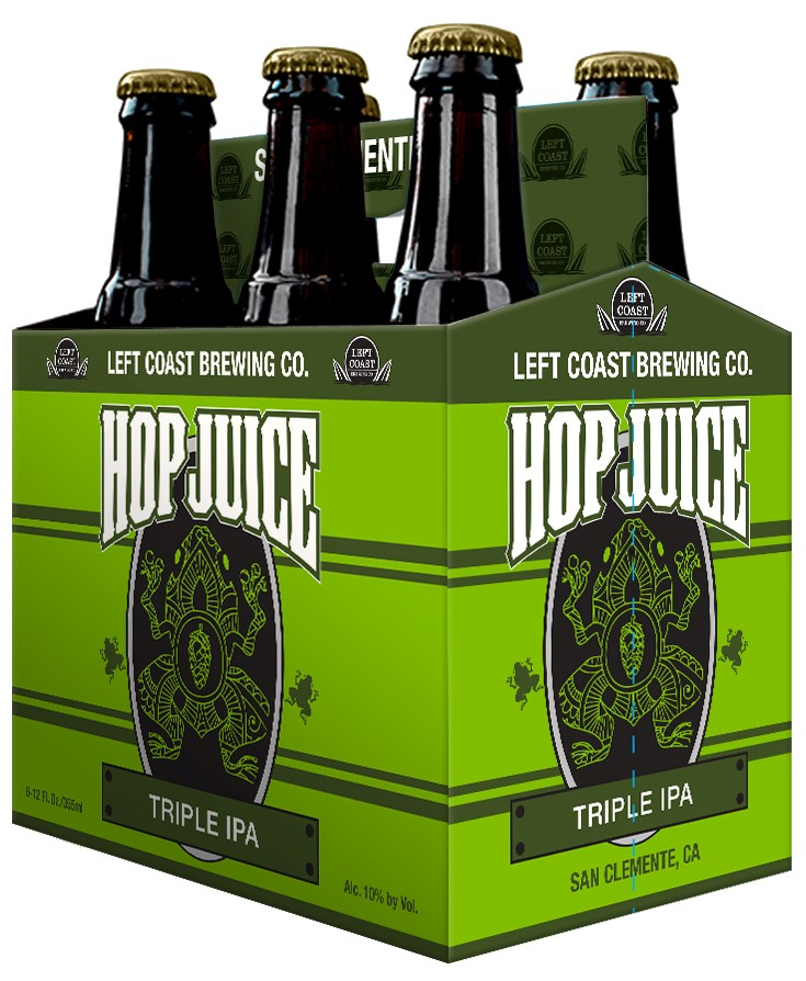 Left Coast Brewing Hop Juice Triple IPA