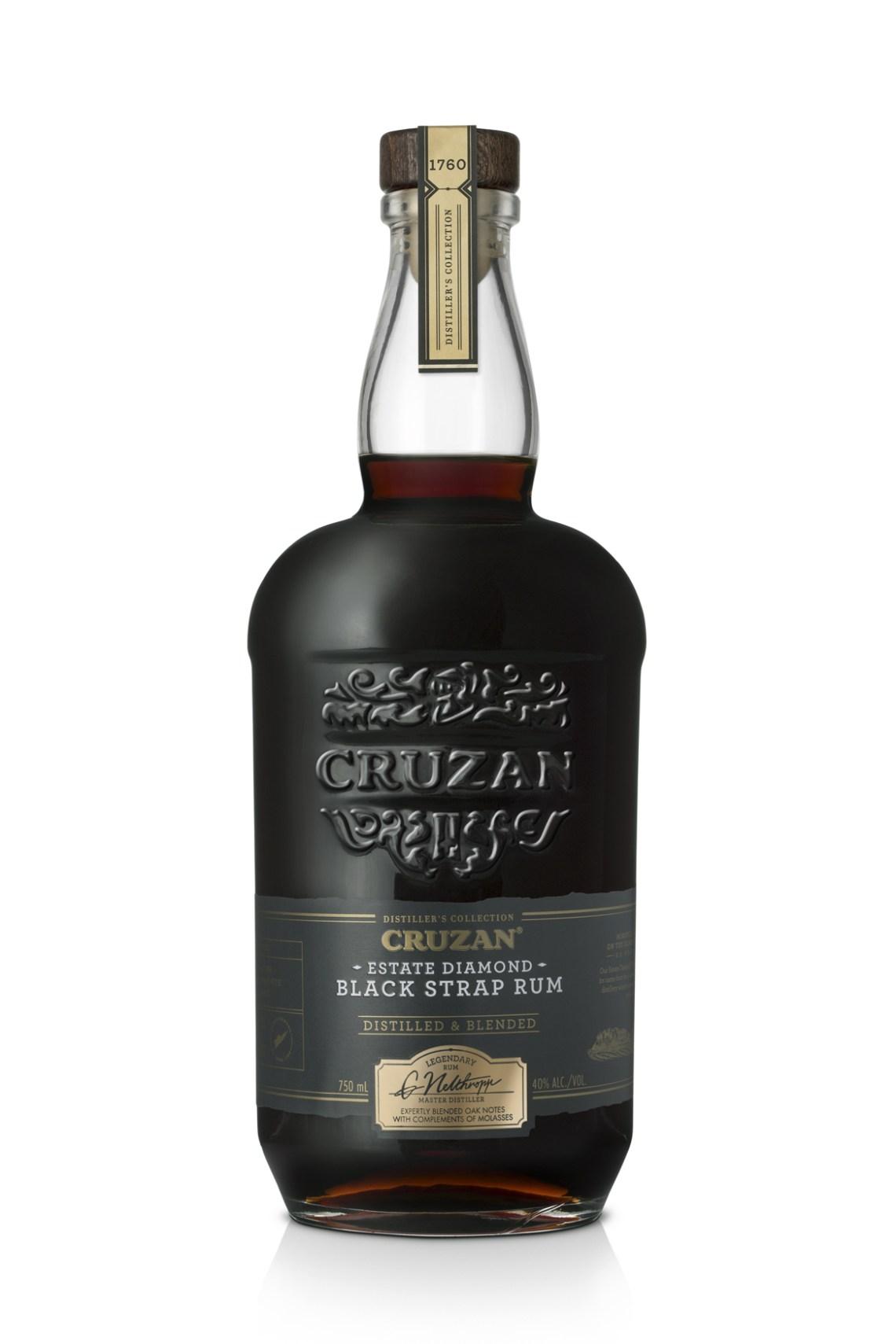 Cruzan Distiller's Collection Estate Diamond Black Strap Rum