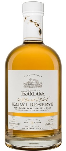 Koloa Kauai Reserve Hawaiian Rum 3 Years Old