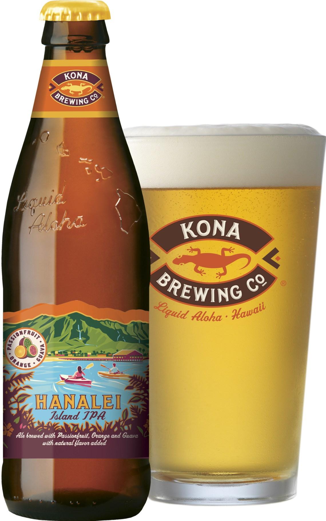 Kona Brewing Co. Hanalei Island IPA