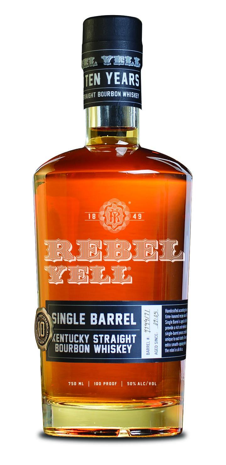 Rebel Yell Single Barrel 10 Years Old 2018