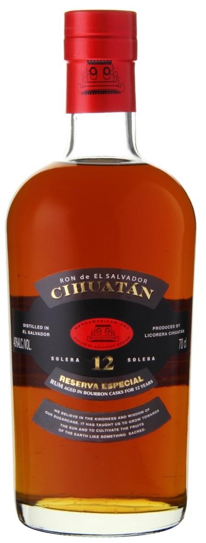 Cihuatan Rum Reserva Especial 12