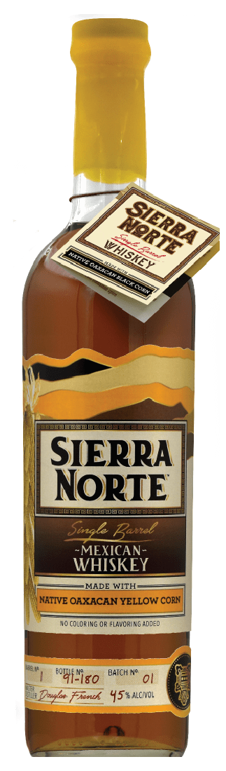 Sierra Norte Single Barrel Whiskey Yellow Corn