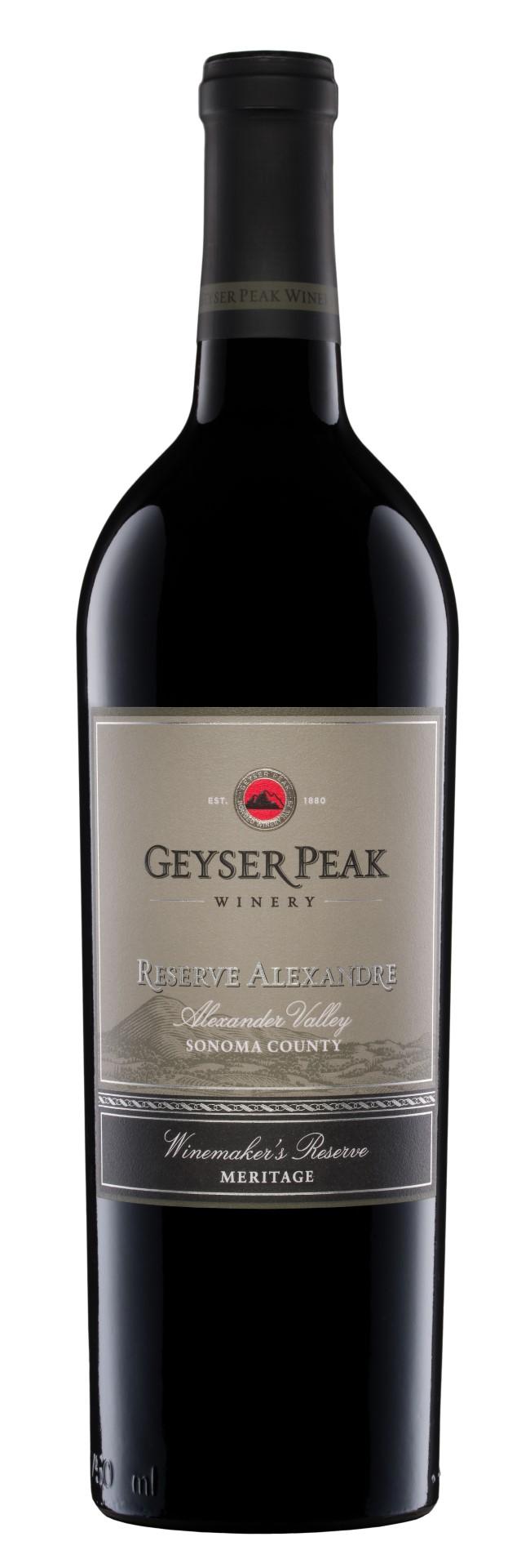 2013 Geyser Peak Meritage Reserve Alexandre