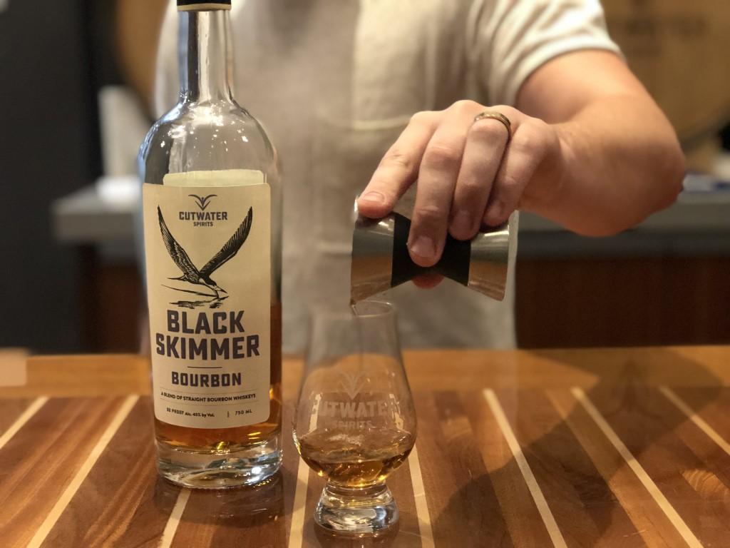 Cutwater Spirits Black Skimmer Bourbon