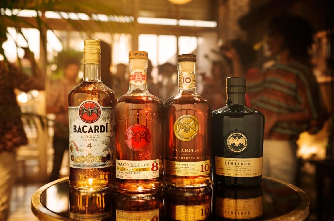 Bacardi Gran Reserva Diez Extra Rare Gold Rum 10 Years Old
