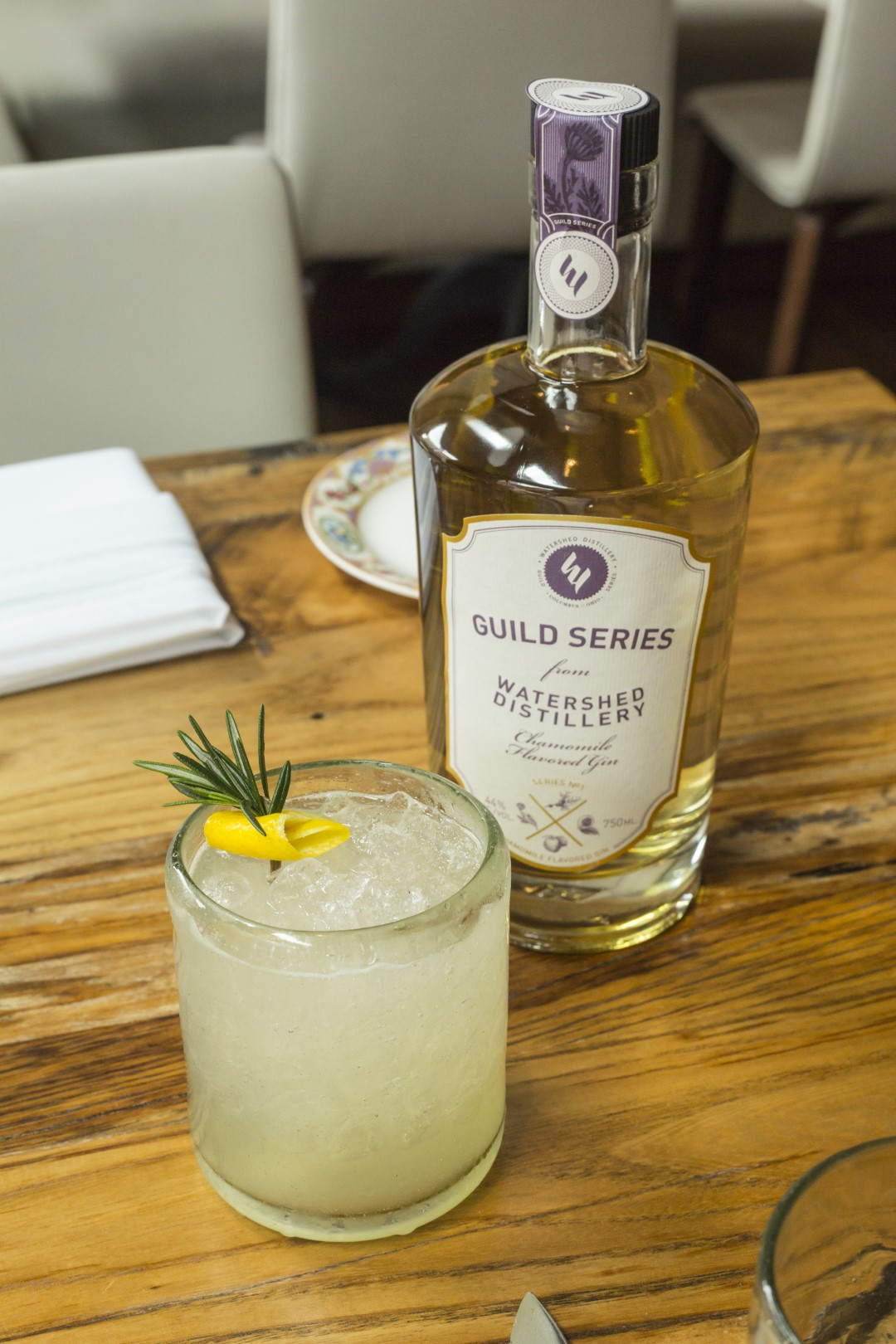 Watershed Distillery Guild Series Chamomile Flavored Gin