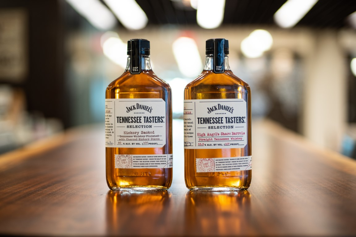 Review: Jack Daniel's Tennessee Tasters' Selections - High Angel's Share Barrels and Hickory Smoked