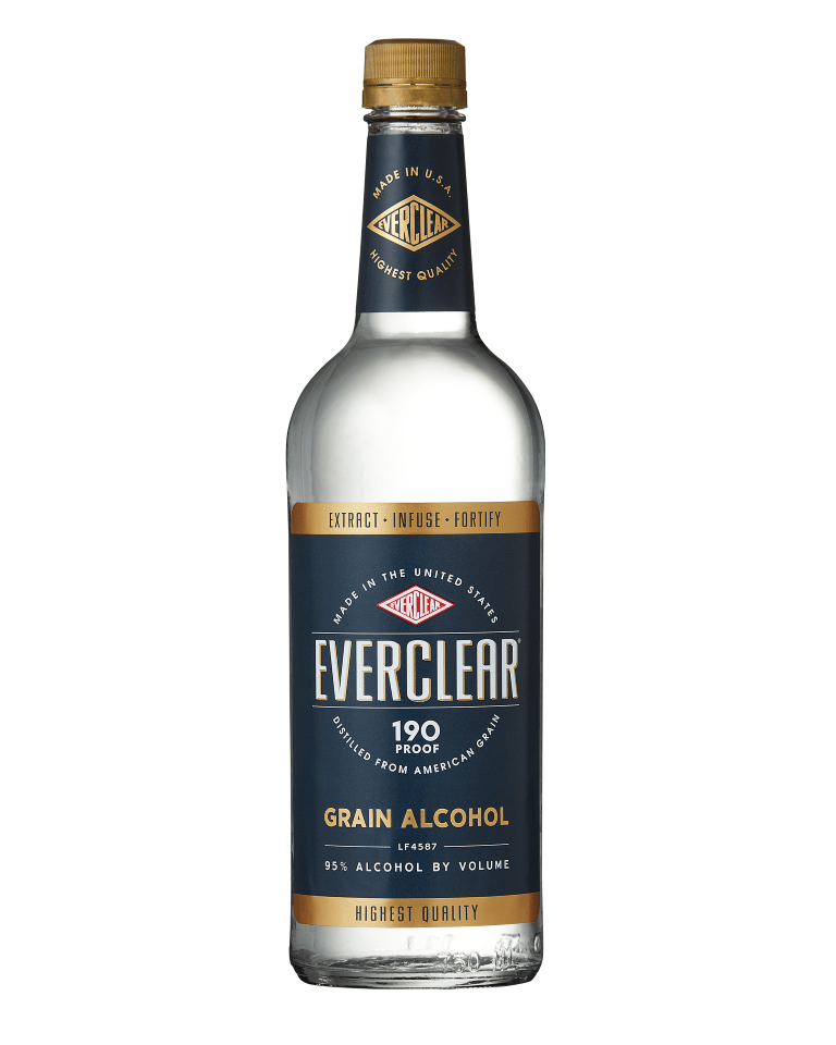 Everclear 190 Grain Alcohol