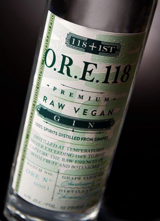 O.R.E. 118 Raw Vegan Gin
