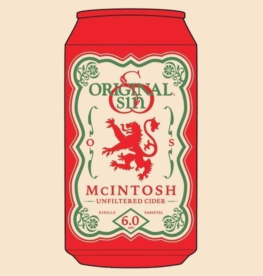 Original Sin Unfiltered McIntosh Cider