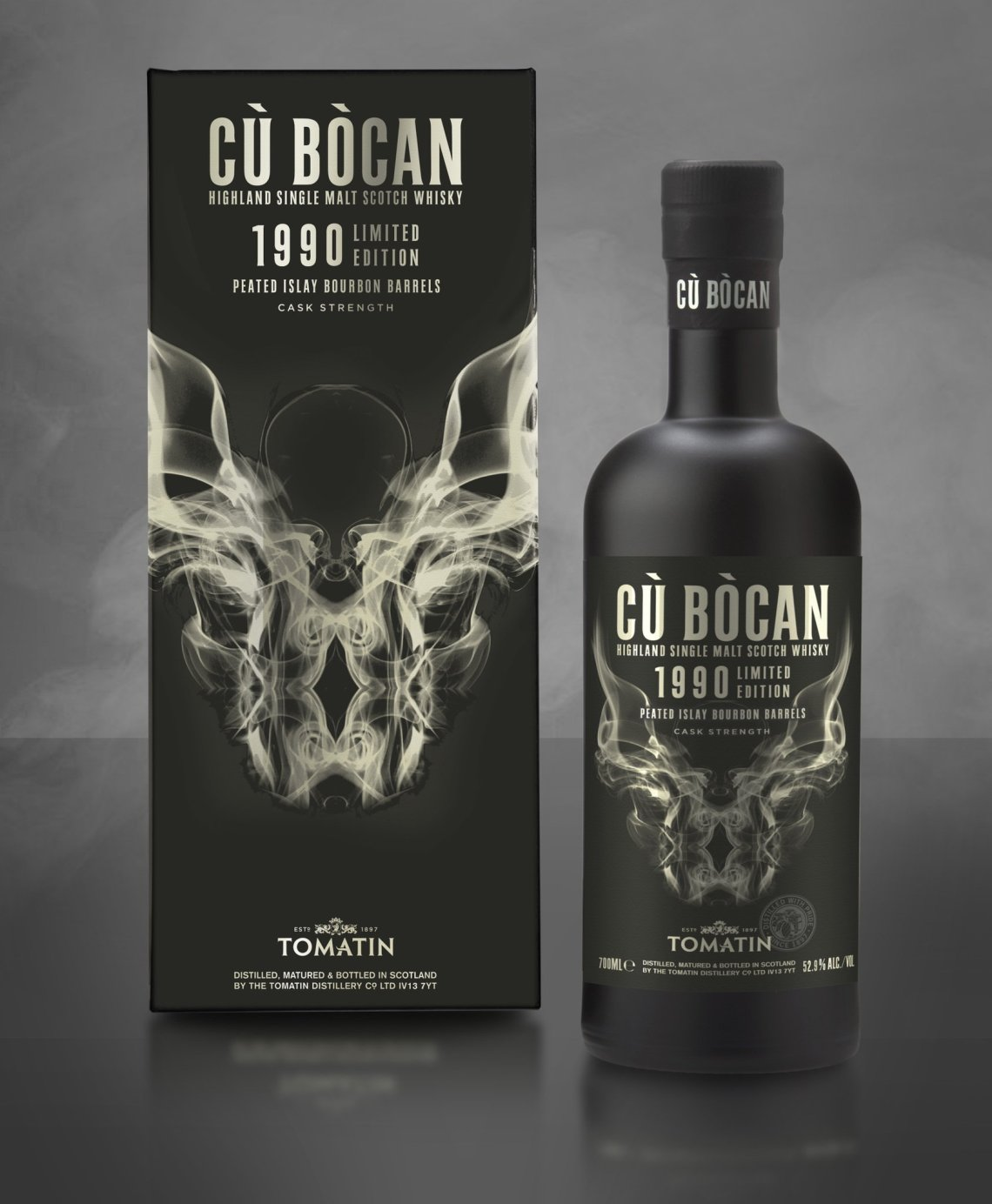 Tomatin Cu Bocan 1990 Limited Edition