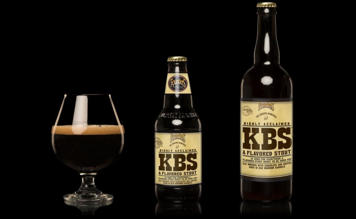 Founders Brewing KBS Bourbon Barrel Aged Stout (2019)