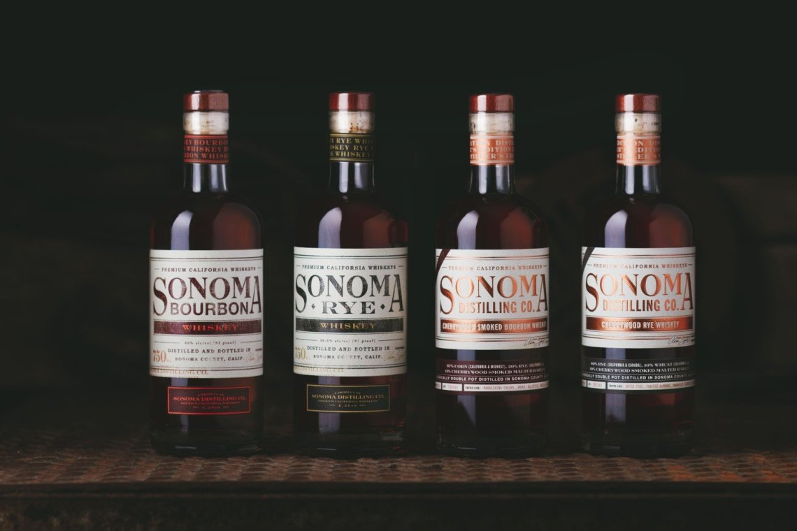 Sonoma Distilling Cherrywood Smoked Bourbon