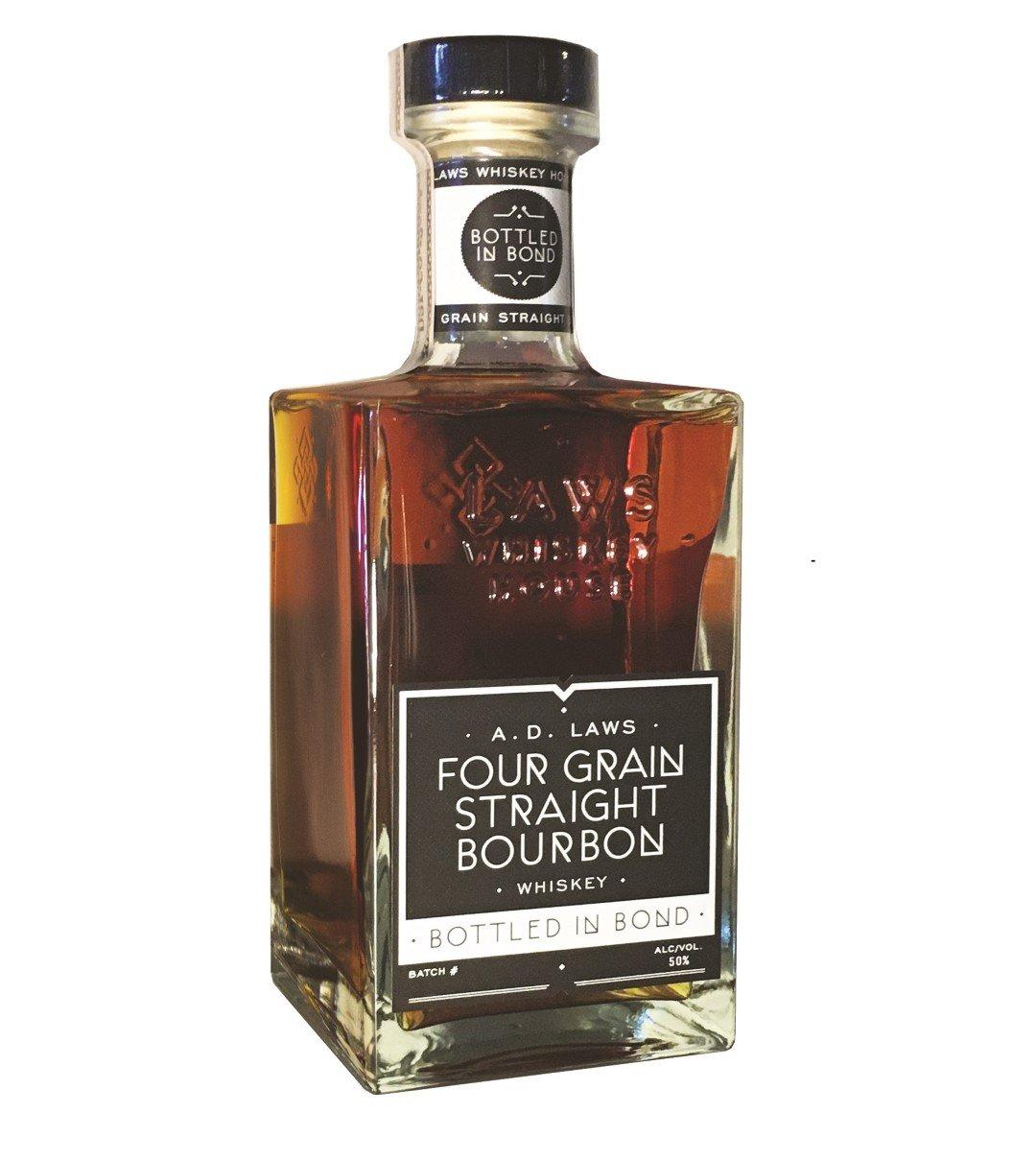 A.D. Laws Four Grain Straight Bourbon Bottled in Bond
