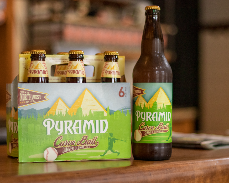 Pyramid Curve Ball Summer Blonde Ale