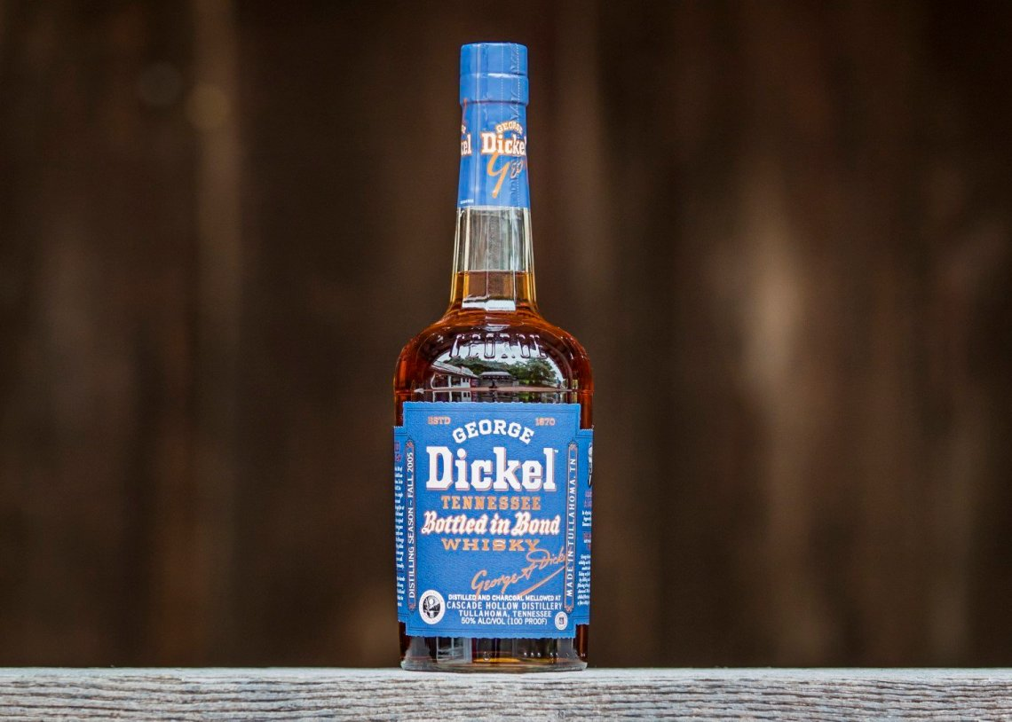 George Dickel Tennessee Whiskey Bottled in Bond 13 Years Old