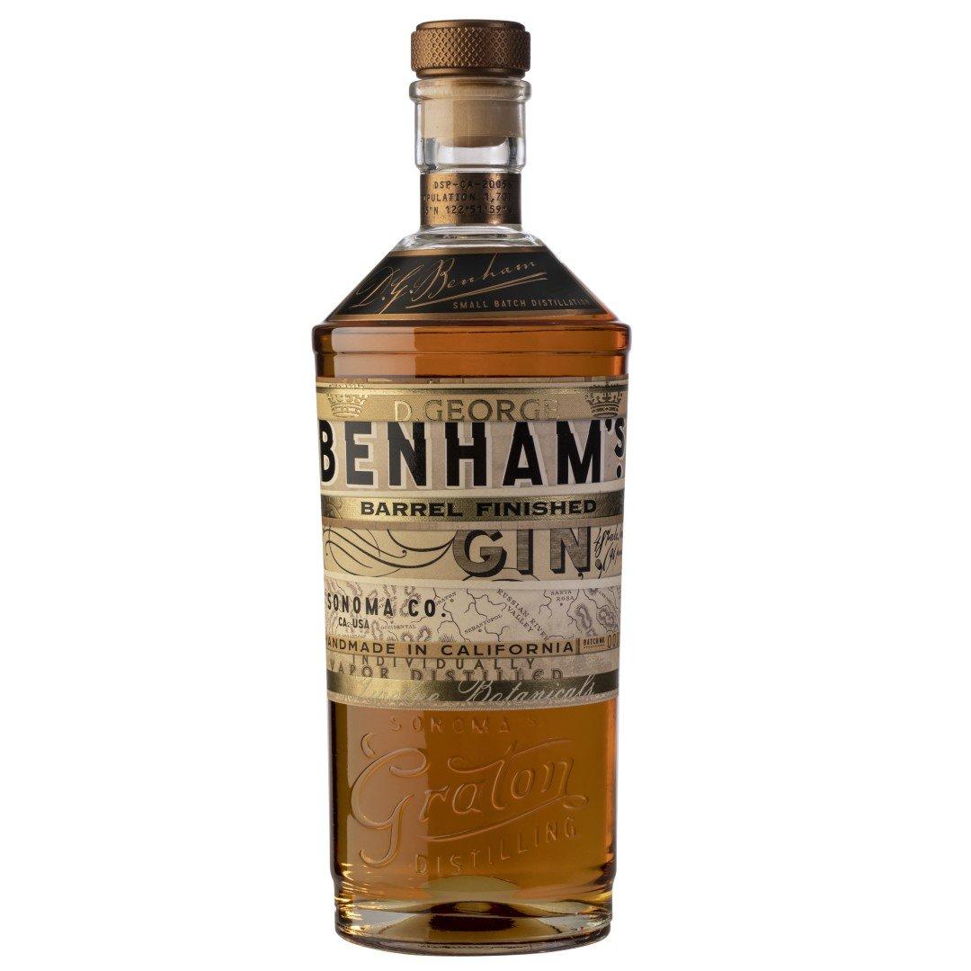 Graton Distilling D. George Benham's Barrel Finished Gin