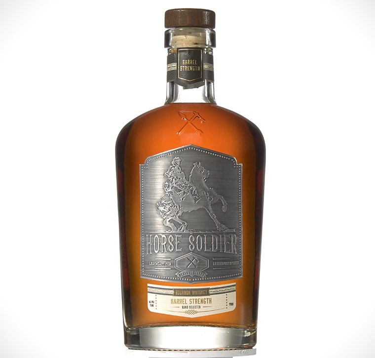 American Freedom Distillery Horse Soldier Barrel Strength Bourbon Whiskey