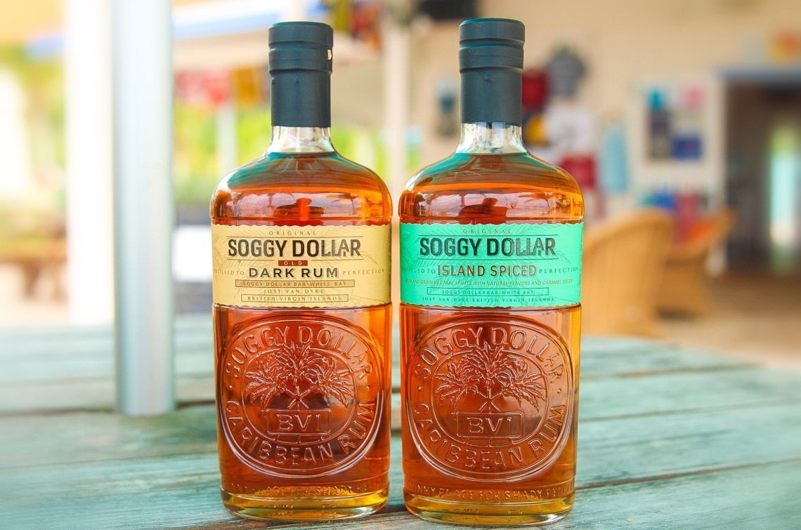 Soggy Dollar Dark Rum