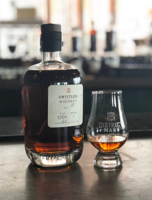 One Eight Distilling Untitled Whiskey No.15