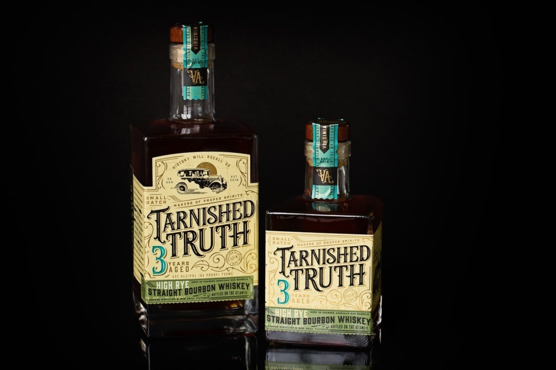 Tarnished Truth High Rye Bourbon 3 Years Old