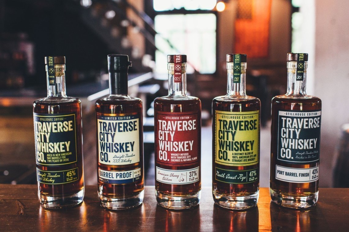 Traverse City Whiskey Straight Bourbon