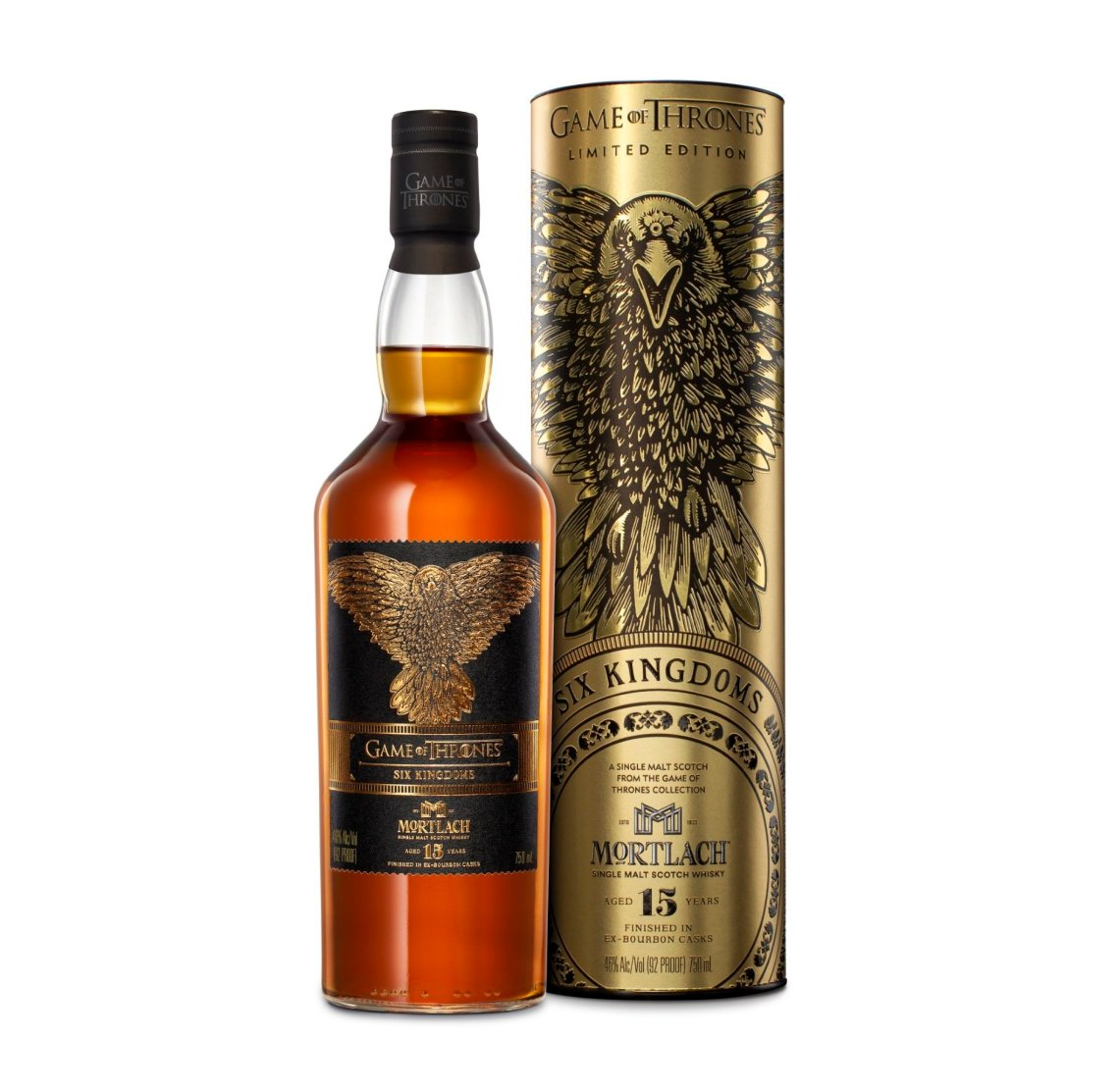 Mortlach Game of Thrones Six Kingdoms 15 Years Old