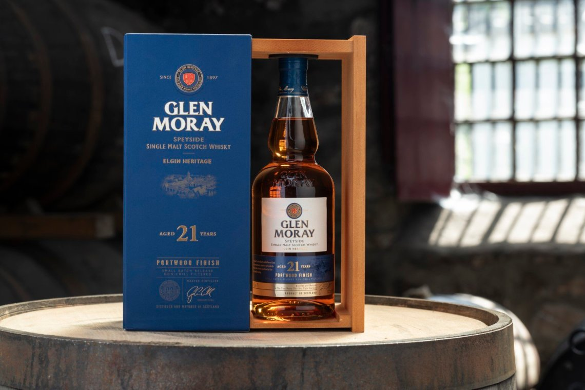 Glen Moray 21 Years Old Portwood Finish