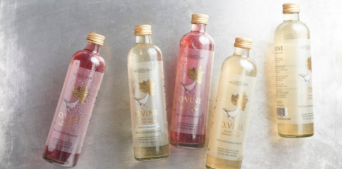 O.Vine White Wine Essence Water - Gently Sparkling
