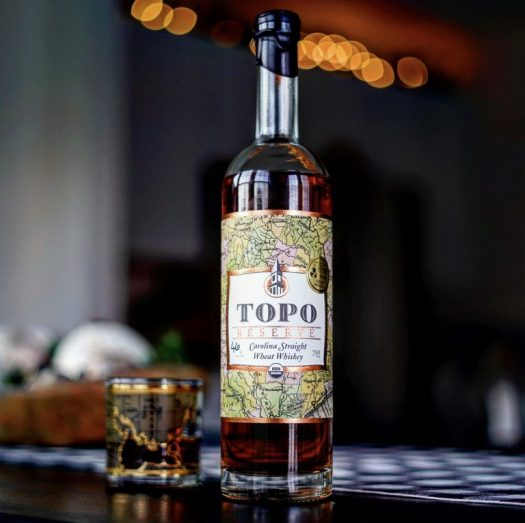 TOPO Reserve Carolina Straight Wheat Whiskey
