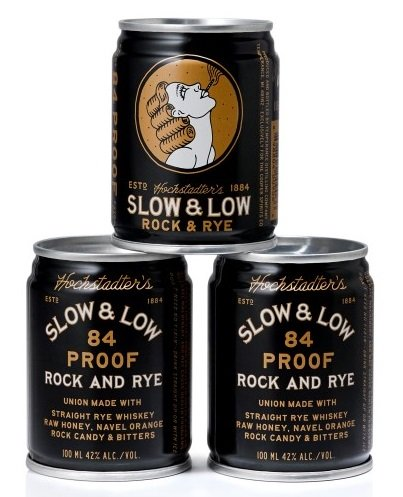 Hochstadter's Slow & Low Rock and Rye Canned Cocktail
